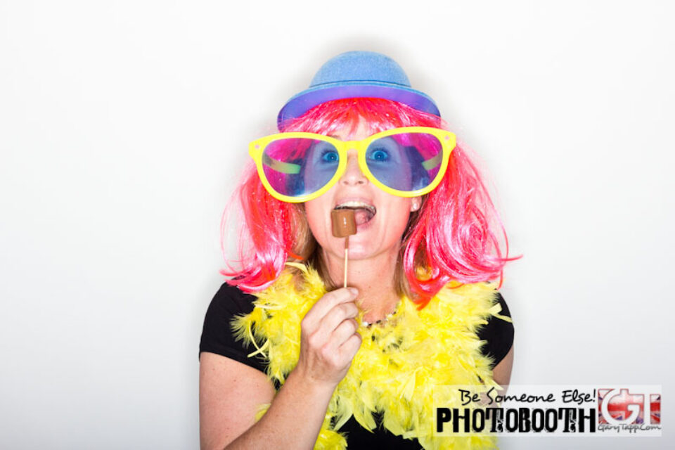 Photo Booth at Wedding Anniversary Party