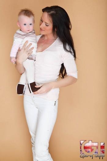 Family Mother + Baby Studio Photo Shoot