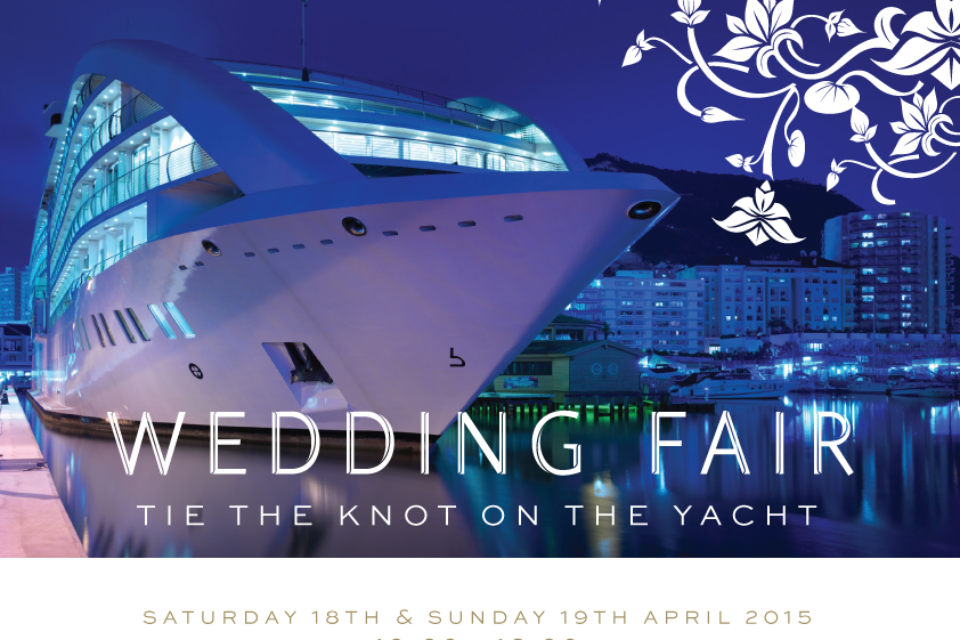 Welcome to the First Sunborn Hotel Gibraltar Wedding Show