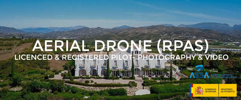 Aerial Drone Photography and Video production service, Costa Del Sol, Andalucia, Spain