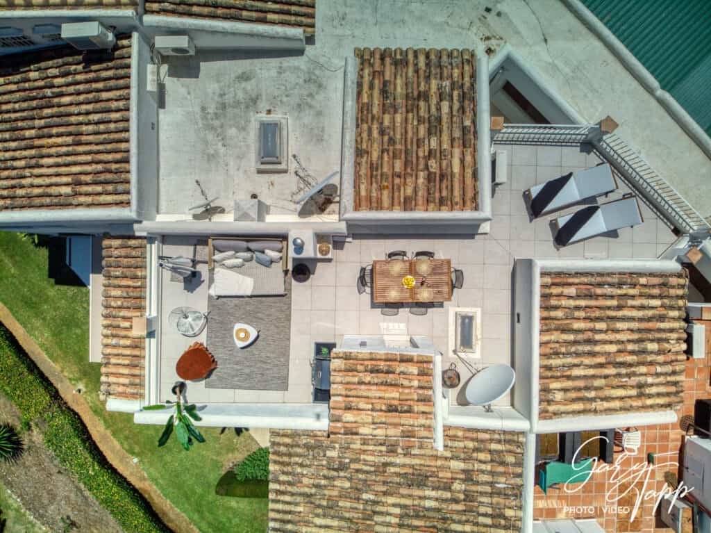 Aerial drone view of Real Estate Photographer in Puerto Banus, Marbella