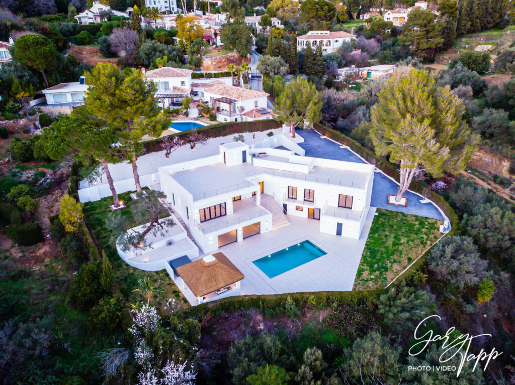 Aerial Drone Real Estate Photographer in Mijas