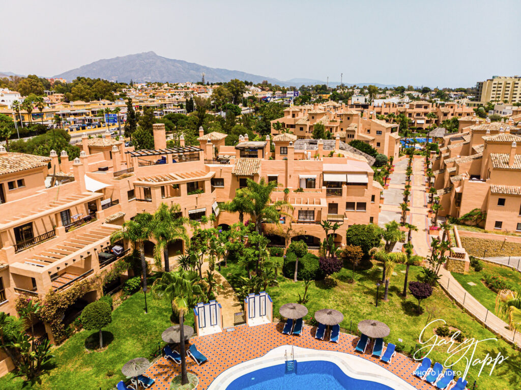 Aerial drone Real Estate Photographer in Estepona