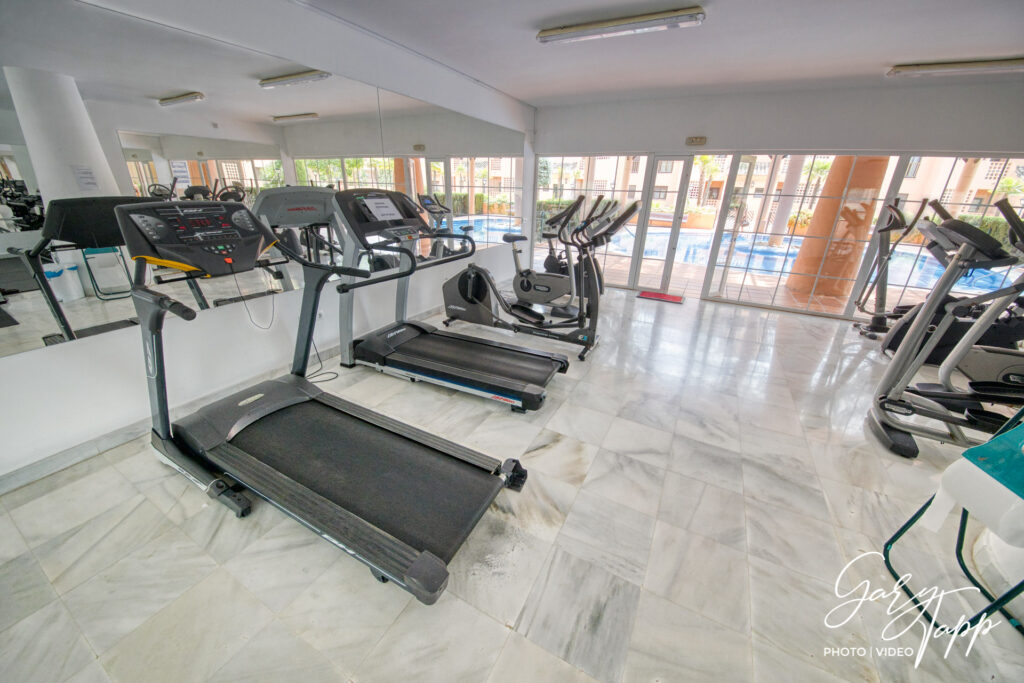 Gym space in Real Estate Photographer Marbella
