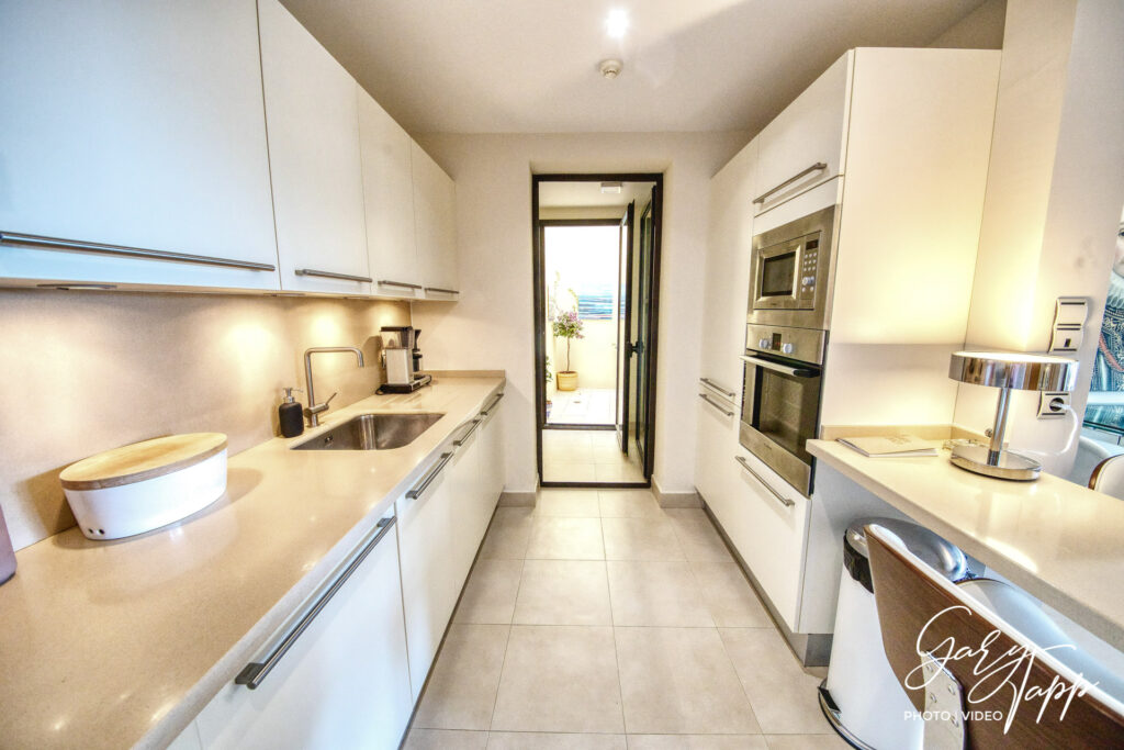 Kitchen area Real Estate Photographer in Elviria